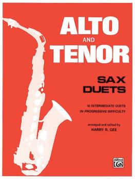 Alto and Tenor Sax Duets (AL-00-PROBK01338)