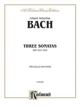 Three Sonatas for Viola da Gamba, BWV 1027-29 (AL-00-K04428)