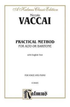 Practical Vocal Method for Alto or Baritone (Low Voice): Vocal Score a (AL-00-K06465)