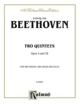 Two Quintets, Opus 4 and Opus 29 (AL-00-K02084)