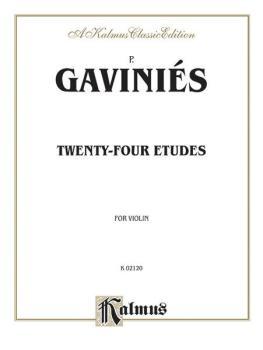 Twenty-four Etudes (AL-00-K02120)