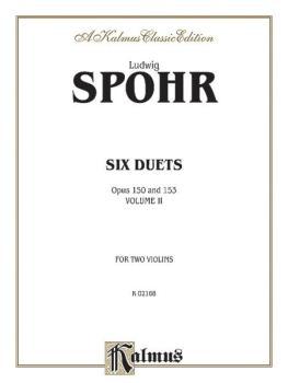 Duets, Volume II, Opus 150 & 153 (AL-00-K02168)