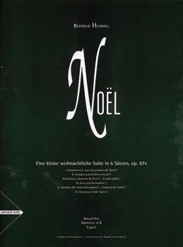 Noël: Eine kleine weihnachtliche Suite in 6 Sätzen, op 87e (AL-01-ADV8207)