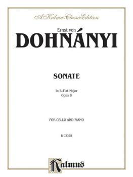 Sonata in B-flat Major, Opus 8 (AL-00-K03378)