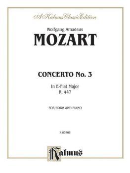 Horn Concerto No. 3 in E-flat Major, K. 447 (AL-00-K03709)
