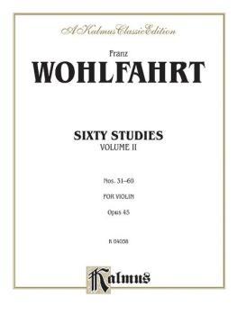 Sixty Studies, Opus 45, Volume II (Nos. 31-60) (AL-00-K04038)