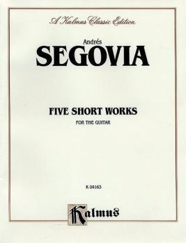 Five Short Works for the Guitar (AL-00-K04163)