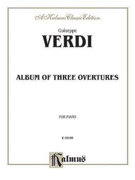 Album of Three Overtures (AL-00-K09498)