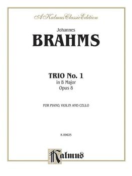 Piano Trio No. 1 in B Major, Opus 8 (AL-00-K09625)