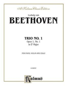 Piano Trio No. 1 in E-flat Major, Opus 1, No. 1 (AL-00-K09707)