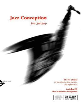 Jazz Conception: Alto & Baritone Saxophone: 21 Solo Etudes for Jazz Ph (AL-01-ADV14720)
