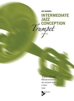 Intermediate Jazz Conception: Trumpet (15 Great Solo Etudes) (AL-01-ADV14782)