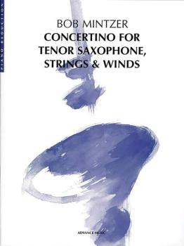 Concertino for Tenor Saxophone, Strings & Winds (AL-01-ADV40002)