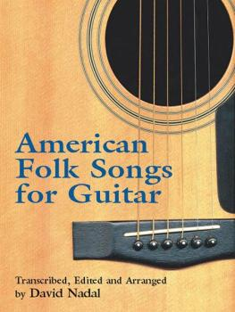 American Folk Songs for Guitar (AL-06-41700X)