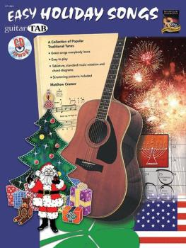Easy Holiday Songs: A Collection of Popular Traditional Tunes (AL-07-1065)