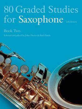 80 Graded Studies for Saxophone, Book Two (AL-12-0571510485)