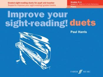 Improve Your Sight-reading! Piano Duet, Grade 0-1: Graded Sight-readin (AL-12-0571524052)