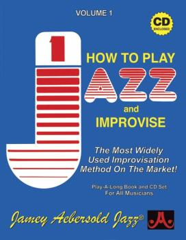 Jamey Aebersold Jazz, Volume 1: How to Play Jazz and Improvise: The Mo (AL-24-V01DS)
