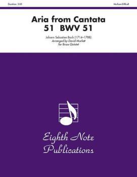Aria (from <I>Cantata 51</I>, BWV 51) (AL-81-BQ961)