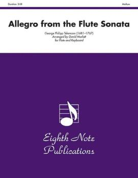 Allegro (from the Flute Sonata) (AL-81-F2017)