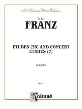 Etudes and Concert Etudes (AL-00-K04523)