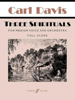 Three Spirituals (For Medium Voice and Orchestra) (AL-12-0571520413)