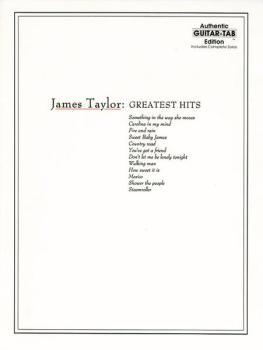 James Taylor: Greatest Hits (AL-00-GF0623)
