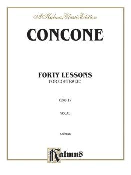 Forty Lessons, Opus 17 (AL-00-K09156)