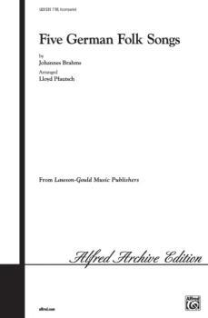 Five German Folk Songs (AL-00-LG51235)