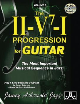 Jamey Aebersold Jazz, Volume 3: The ii-V7-I Progression for Guitar: Th (AL-24-V03G)