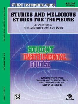 Student Instrumental Course: Studies and Melodious Etudes for Trombone (AL-00-BIC00157A)