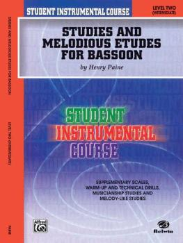Student Instrumental Course: Studies and Melodious Etudes for Bassoon, (AL-00-BIC00227A)