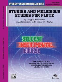 Student Instrumental Course: Studies and Melodious Etudes for Flute, L (AL-00-BIC00302A)