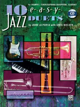 10 Easy Jazz Duets (AL-00-SB296CD)