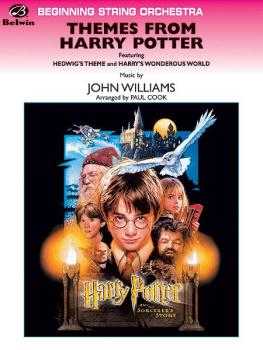 <I>Harry Potter,</I> Themes from (Featuring: Hedwig's Theme / Harry's  (AL-00-SOM01010C)