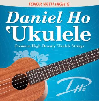 Daniel Ho 'Ukulele Premium High-Density Ukulele Strings (Tenor with Hi (AL-98-DHC80110BX)