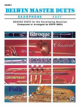 Belwin Master Duets (Saxophone), Easy Volume 1 (AL-00-EL03252)