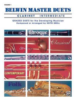 Belwin Master Duets (Clarinet), Intermediate Volume 1 (AL-00-EL03272)