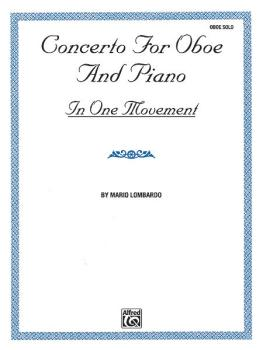 Concerto for Oboe and Piano (In One Movement) (AL-00-EL9544)