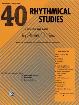 40 Rhythmical Studies (AL-00-EL01320)