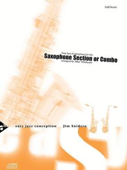 Easy Jazz Conception: Saxophone Section or Combo (AL-01-ADV14774)