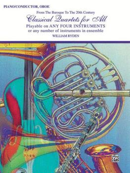 Classical Quartets for All (From the Baroque to the 20th Century) (AL-00-EL96151)