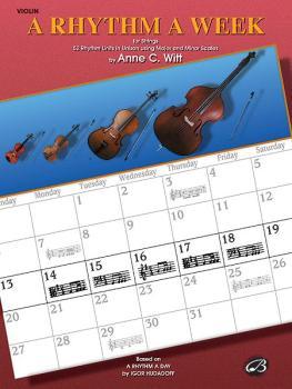 A Rhythm a Week: Based on <I>A Rhythm a Day</I> by Igor Hudadoff (AL-00-EL9803)
