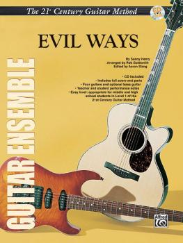 Belwin's 21st Century Guitar Ensemble Series: Evil Ways (AL-00-ELM02015)