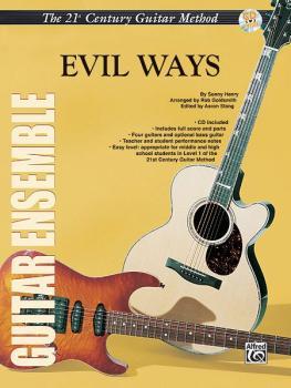 Belwin's 21st Century Guitar Ensemble Series: Evil Ways (AL-00-ELM02015)