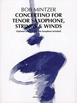 Concertino for Tenor Saxophone, Strings & Winds: Optional Solo Part fo (AL-01-ADV40000)