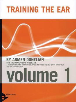 Training the Ear, Volume 1 (For the Improvising Musician) (AL-01-ADV16300)