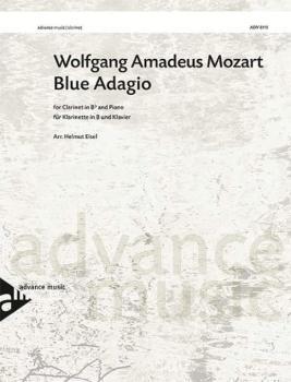 "Blue Adagio (Arranged from the ""Adagio"" from <i>Clarinet Concerto</i>  (AL-01-ADV8115)"