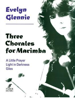 Three Chorales for Marimba (AL-12-0571515193)