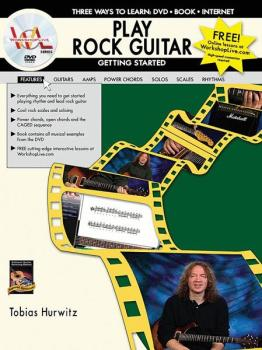 Play Rock Guitar: Getting Started: Three Ways to Learn: DVD * Book * I (AL-07-1101)